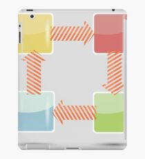 info graphic elements iPad Case/Skin