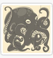 The Diver and the Octopus  Sticker