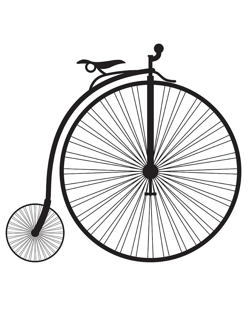 vintage bicycle, Retro bicycle