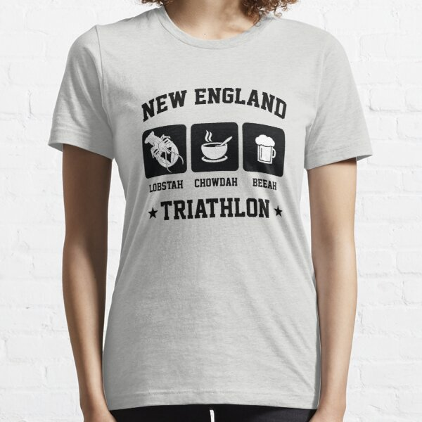 New England Triathlon - Lobster Clam Chowder and Beer Essential T-Shirt