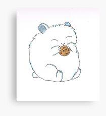 Chubby Hamster Canvas Print