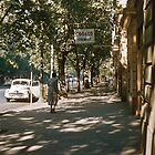Upper Collins Street 19570121 0001  by Fred Mitchell
