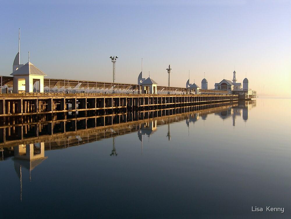 Cunningham Pier, Geelong by Lisa  Kenny