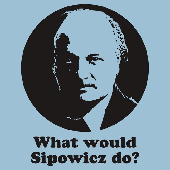 TShirtGifter presents: What Would Sipowcz Do?