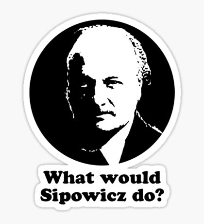 What Would Sipowcz Do? Sticker