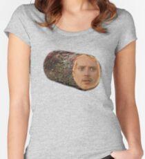 Elijah Wood? Elijah Wood. Women's Fitted Scoop T-Shirt