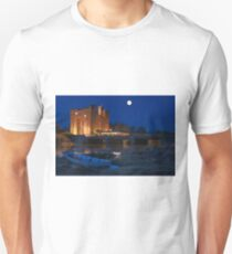 Irish Castle, Bunratty Castle at Night, County Clare, Ireland Unisex T-Shirt