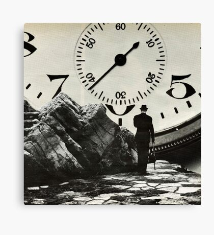 Time's up  Canvas Print