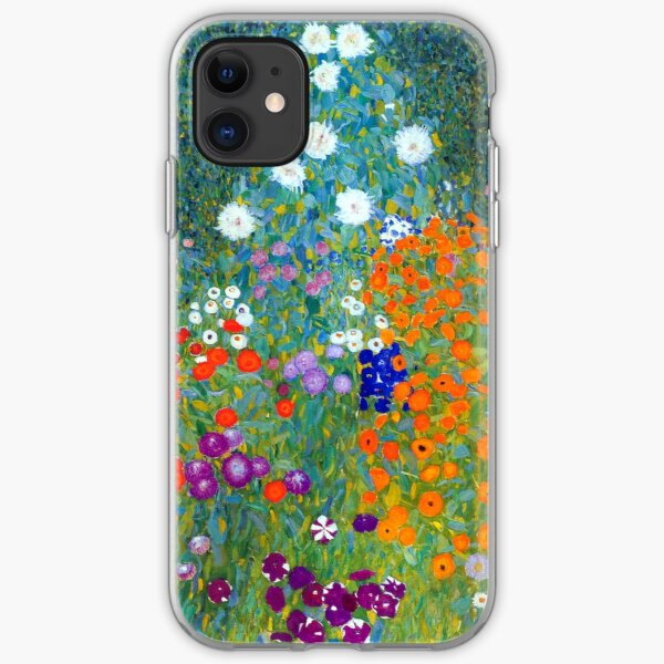 Wonder Wild Phone Cases for iPhone SE 5 5s 6 6s 7 8 Plus 10 X Cute Blue Flowers Gold Leaves Design Nature Print Peony and Rose Plant Pattern Vintage Floral Summer Watercolor