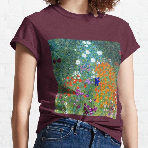 Gustav Klimt Flower Garden Classic T-Shirt