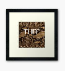 THIEF Framed Print