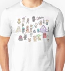 Star Characters Wars Unisex T-Shirt