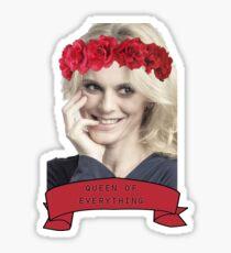 Emilia Fox - Queen (Version 2) Sticker