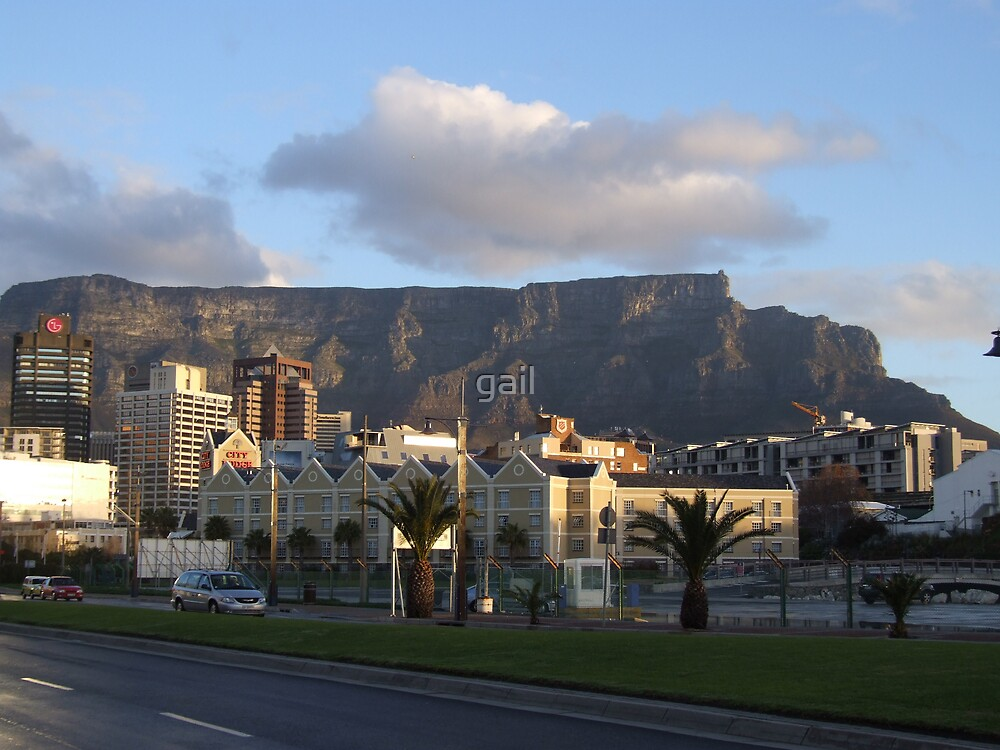 Table Mountain by gail