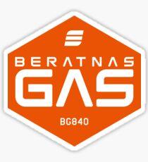 Beratnas Gas Hexagon Sticker