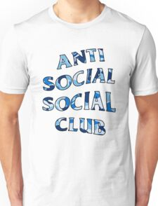 ANTI SOCIAL SOCIAL CLUB BLUE CAMO Unisex T-Shirt
