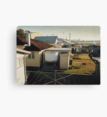 Backyards of Kempsey Canvas Print