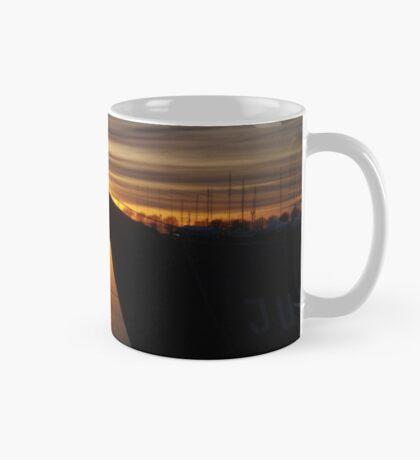 February sunset Mug