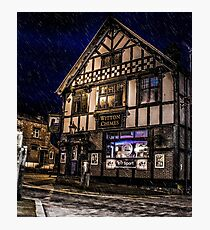 Northwich at night 14 Photographic Print
