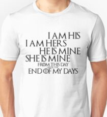 Game of Thrones Quote: Marriage T-Shirt