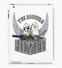 TEA-BAGGERS 4LYFE iPad Case/Skin