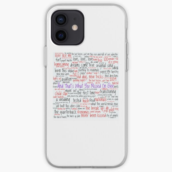 And That's What You Missed On Glee - Episodes iPhone Soft Case
