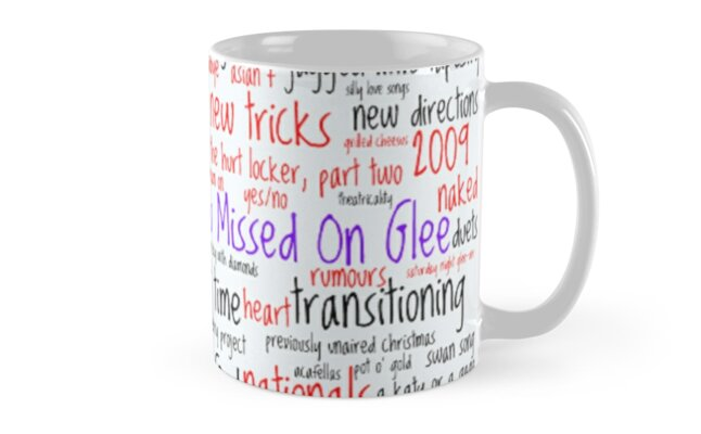 And That's What You Missed On Glee - Episodes Classic Mugs