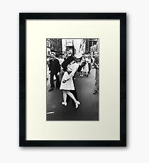 V-J Day in Times Square Framed Print