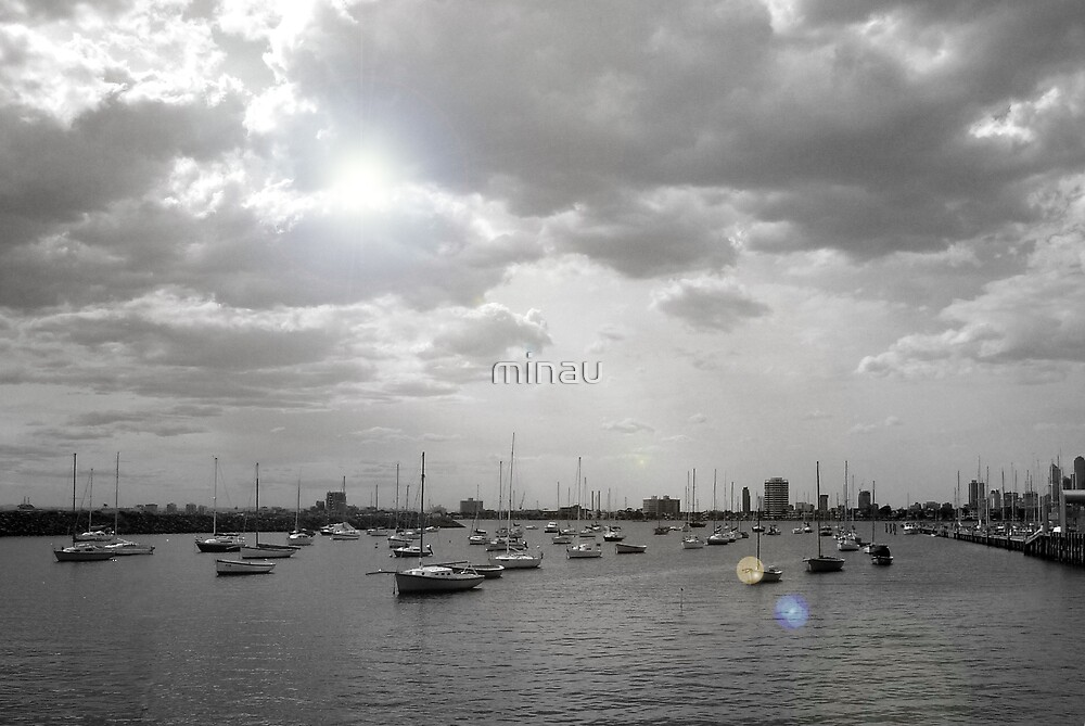 Boats in St Kilda by minau