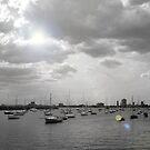 Boats in St Kilda by minau