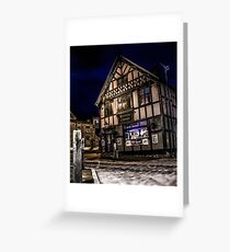 Northwich at night 15 Greeting Card