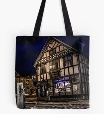 Northwich at night 15 Tote Bag