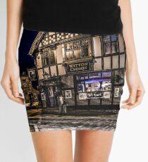 Northwich at night 15 Mini Skirt