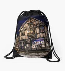 Northwich at night 15 Drawstring Bag