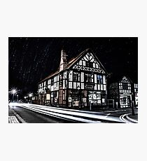 Northwich at night 16 Photographic Print