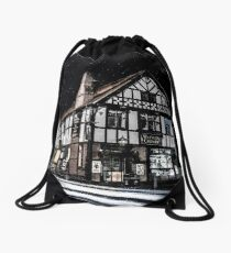 Northwich at night 16 Drawstring Bag