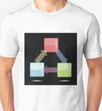 info graphic elements Unisex T-Shirt