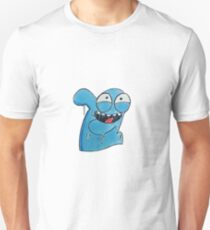 Bloo in Rick and morty style  T-Shirt