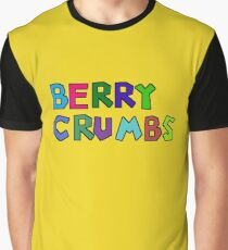 Berry Crumbs Cereal Logo Graphic T-Shirt
