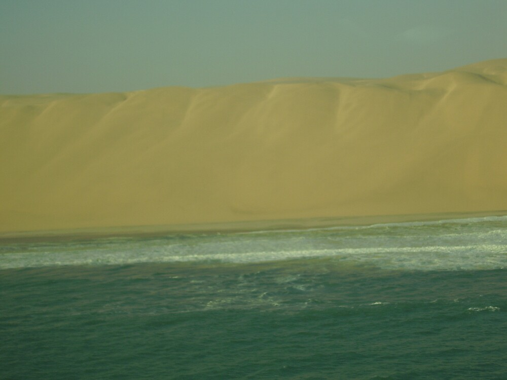 the big sand wall by mj007