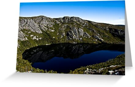 Crater Lake in Colour by James Thomas