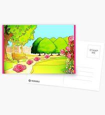 ROSES LANE Postcards