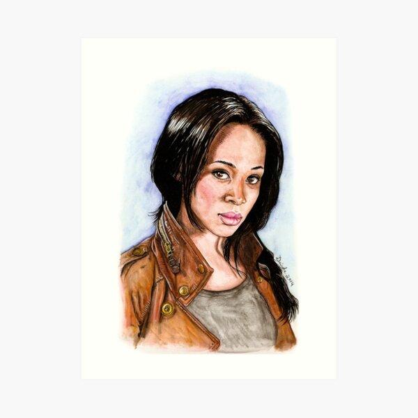 Abbie Mills Art Print