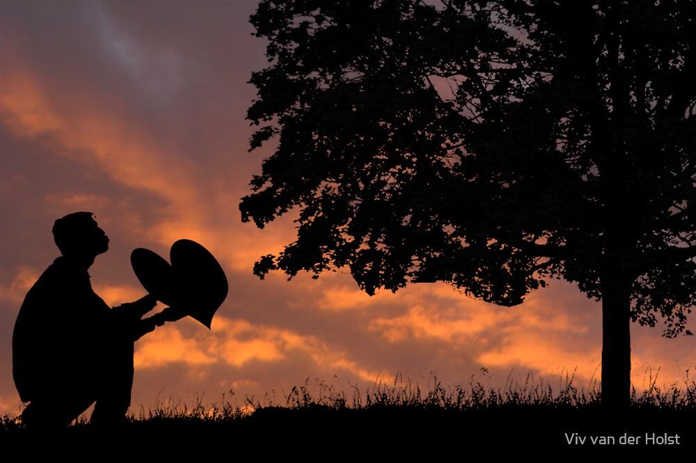 Tree huggers, the proposal by Viv van der Holst