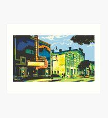 Rivoli & Washington House Inn - Cedarburg WI (bold) Art Print
