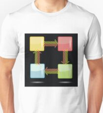 colorful template Unisex T-Shirt
