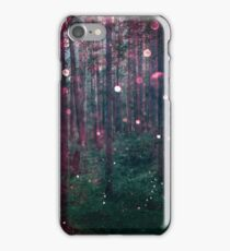 Forest Trees Nature Walk - Magical Fairy Glow Night iPhone Case/Skin