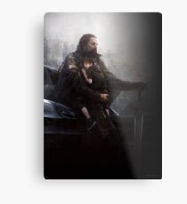 FFXV: Father and Son Metal Print