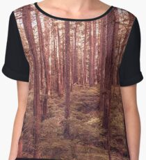 Forest Trees - The Vintage Wilds Chiffon Top