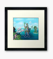 Oracle Isles Framed Print